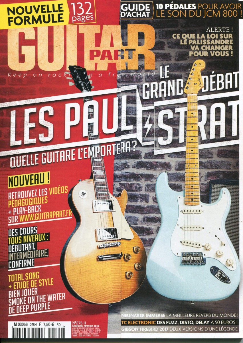 GUITAR PART N° 275 Interview Doc